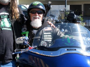 Wizard on his bike in Reno